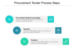 Procurement Tender Process Steps Ppt PowerPoint Presentation Slides Introduction Cpb