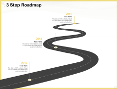 Producing Video Content 3 Step Roadmap Ppt Ideas Graphics Download PDF