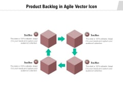 Product Backlog In Agile Vector Icon Ppt PowerPoint Presentation Icon Deck PDF