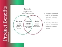 Product Benefits Ppt PowerPoint Presentation Portfolio Show