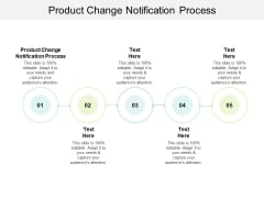 Product Change Notification Process Ppt PowerPoint Presentation Icon Outfit Cpb