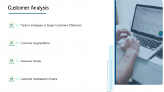 Product Commercialization Action Plan Customer Analysis Formats PDF