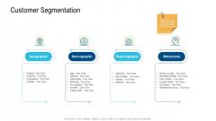 Product Commercialization Action Plan Customer Segmentation Graphics PDF