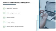 Product Commercialization Action Plan Introduction To Product Management Demonstration PDF