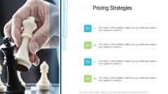 Product Commercialization Action Plan Pricing Strategies Ppt Icon PDF