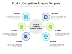 Product Competitive Analysis Template Ppt PowerPoint Presentation File Smartart Cpb Pdf