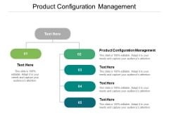 Product Configuration Management Ppt PowerPoint Presentation Pictures Visual Aids Cpb