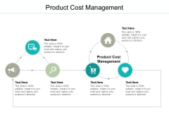 Product Cost Management Ppt PowerPoint Presentation Model Graphic Tips Cpb