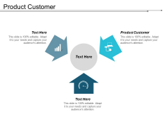 Product Customer Ppt Powerpoint Presentation Portfolio Graphics Design Cpb