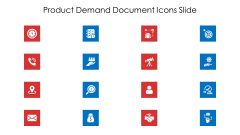 Product Demand Document Icons Slide Ppt Infographics Graphic Images PDF