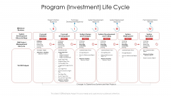 Product Demand Document Program Investment Life Cycle Sample PDF