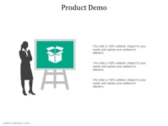 Product Demo Ppt PowerPoint Presentation Icon Professional