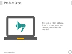 Product Demo Ppt PowerPoint Presentation Pictures