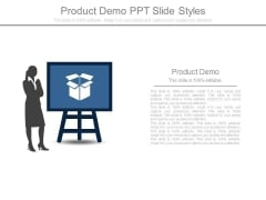 Product Demo Ppt Slide Styles
