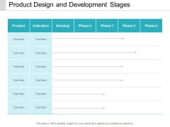 Product Design And Development Stages Ppt Powerpoint Presentation File Example