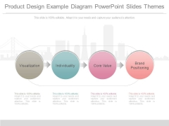 Product Design Example Diagram Powerpoint Slides Themes