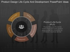 Product Design Life Cycle And Development Powerpoint Ideas