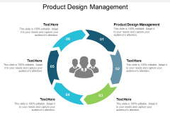 Product Design Management Ppt PowerPoint Presentation Inspiration Infographic Template Cpb