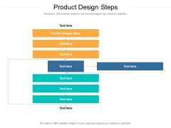 Product Design Steps Ppt PowerPoint Presentation Layouts Elements Cpb Pdf