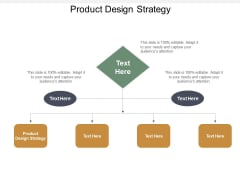 Product Design Strategy Ppt Powerpoint Presentation Pictures Backgrounds Cpb