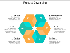 Product Developing Ppt PowerPoint Presentation Summary Cpb
