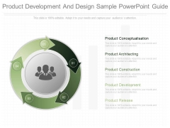 Product Development And Design Sample Powerpoint Guide