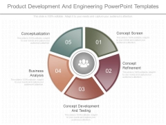 Product Development And Engineering Powerpoint Templates