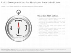 Product Development Costs And Risks Layout Presentation Pictures
