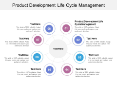 Product Development Life Cycle Management Ppt PowerPoint Presentation Icon Graphics Template Cpb