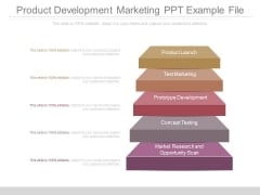 Product Development Marketing Ppt Example File