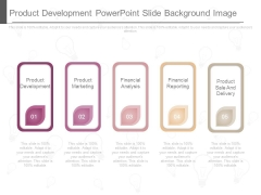 Product Development Powerpoint Slide Background Image