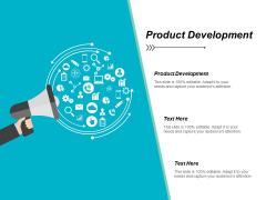 Product Development Ppt PowerPoint Presentation Show Shapes