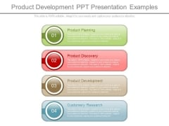 Product Development Ppt Presentation Examples