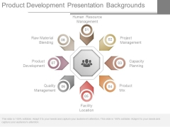 Product Development Presentation Backgrounds