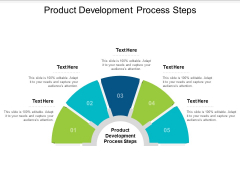 Product Development Process Steps Ppt PowerPoint Presentation Pictures Files Cpb