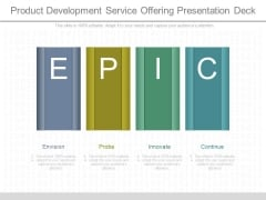 Product Development Service Offering Presentation Deck