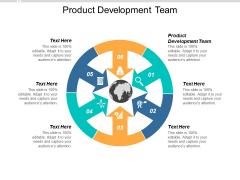 Product Development Team Ppt PowerPoint Presentation Portfolio Rules Cpb