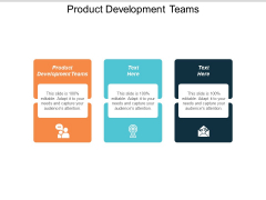 Product Development Teams Ppt Powerpoint Presentation File Designs Download Cpb