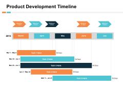 Product Development Timeline Ppt PowerPoint Presentation Summary Mockup