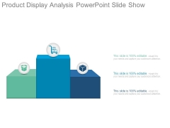 Product Display Analysis Powerpoint Slide Show