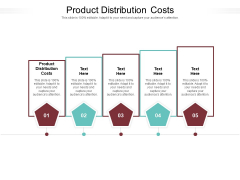 Product Distribution Costs Ppt PowerPoint Presentation Inspiration Graphics Design Cpb Pdf