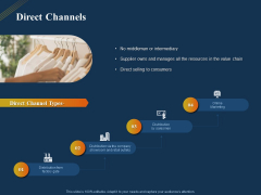 Product Distribution Sales And Marketing Channels Direct Channels Ppt Gallery Format PDF