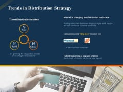Product Distribution Sales And Marketing Channels Trends In Distribution Strategy Ppt Model Shapes PDF