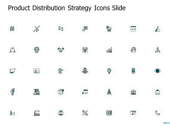 Product Distribution Strategy Icons Slide Arrows Ppt PowerPoint Presentation Icon Slide Portrait
