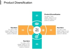 Product Diversification Ppt PowerPoint Presentation Slides Template Cpb