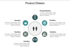 Product Division Ppt PowerPoint Presentation Professional Rules Cpb