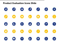 Product Evaluation Icons Slide Growth Ppt PowerPoint Presentation Model Samples