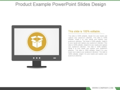 Product Example Powerpoint Slides Design