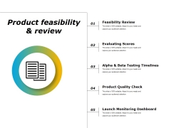 Product Feasibility And Review Ppt PowerPoint Presentation Infographics Design Inspiration
