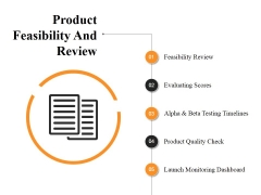 Product Feasibility And Review Ppt PowerPoint Presentation Outline Background Image